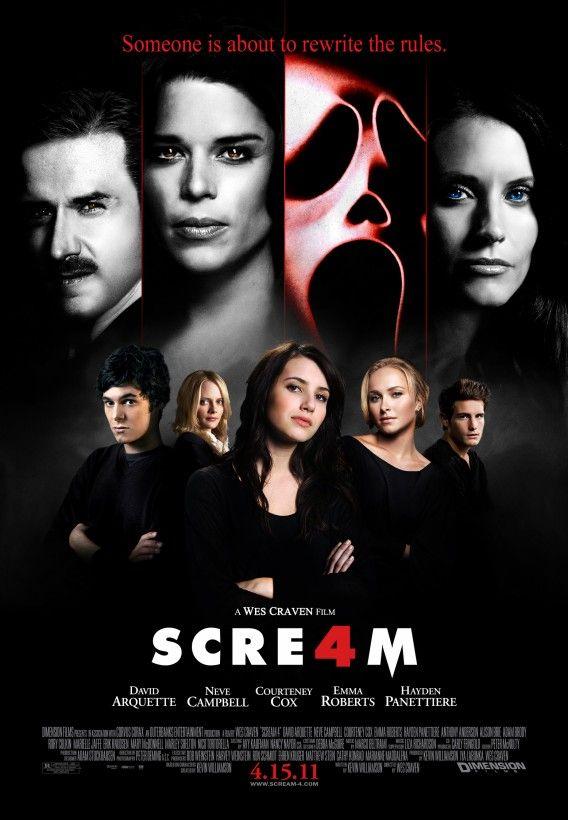 Scream 4 Cast Poster