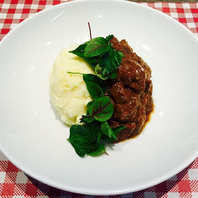 Our $10 special for today is the #Beefbourguignon served with cheesy mash. The…