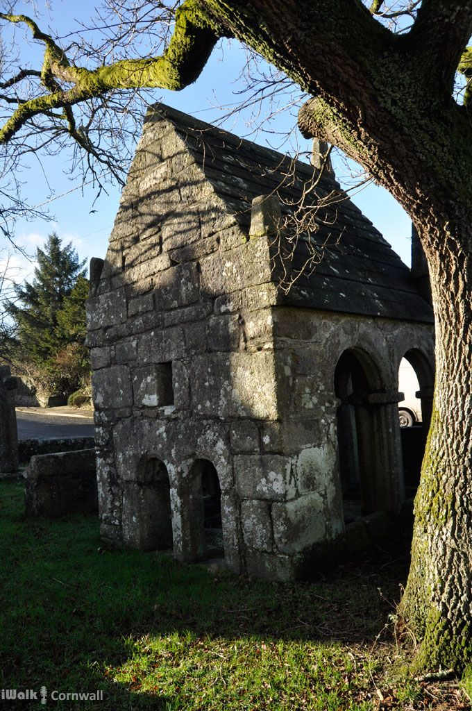 St Cleer Holy Well in Cornwall; immersion in the water is said to cure madness (didn't work for me)