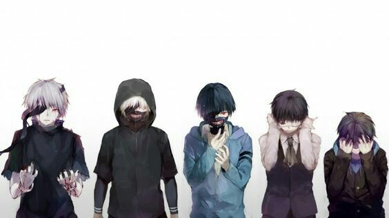 Evolution of Kaneki :D