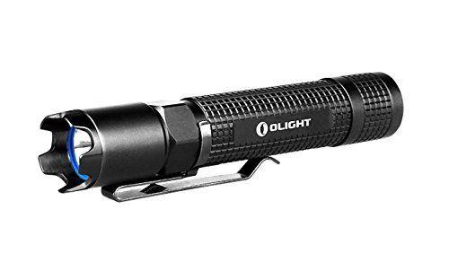 Lampe de poche tactique de LED Olight M18S Striker Interrupteur du couvercle de queue de sortie variable avec le Strobe: Amazon.fr: Jardin