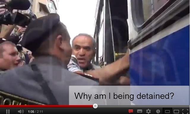 Garry Kasparov detained by Russian police  #kasparov