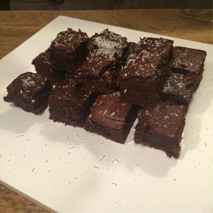 Choco-banaan brownies - Voedingsadvies Amersfoort