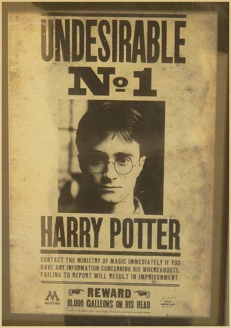 Harry Potter Wanted Posters #harrypotterwallpaper | Harry ...