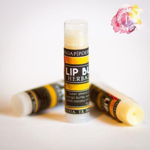 Vegan Lip Balm | Poepa Soap