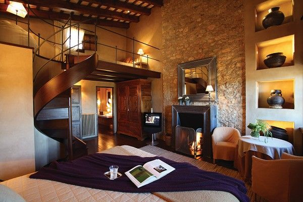 Fantastic master bedroom from an old Spanish Villa completely renovated.