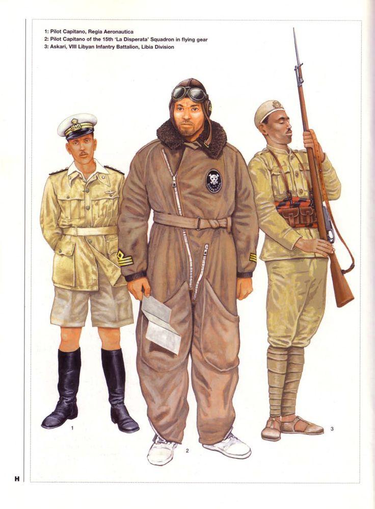 The Italian Invasion of Abyssinia 1935-36:  3: Askari, VIII Libyan Infantry Battalion, Libia Division