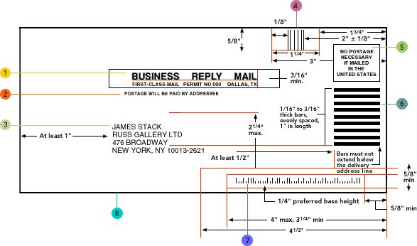 Business Reply Mail diagram Direct Mail Pinterest Business - business envelope template