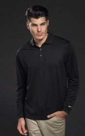 Promotional Products Ideas That Work: LONGSLEEVE STRETCH TECH POLO. Get yours at www.luscangroup.com