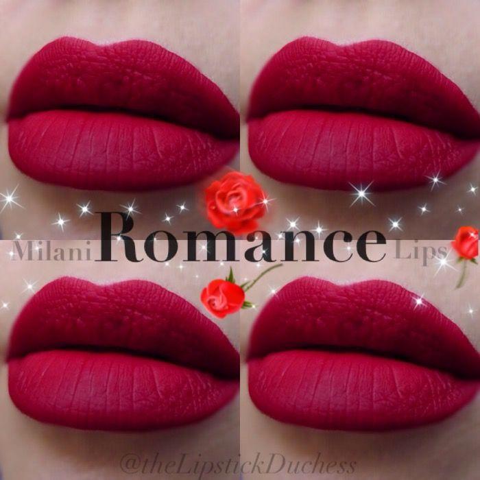 7 Romance Lips - Amore Matte   Milani Lipsticks   Milani ...