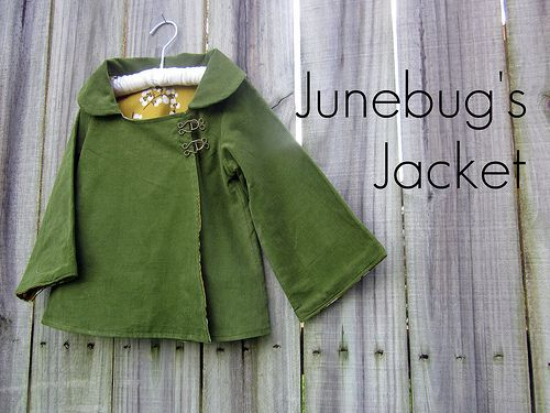 Love the closures on this jacket.