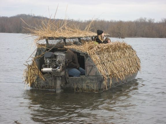 25+ best ideas about Duck Boat Blind on Pinterest | Boat ...