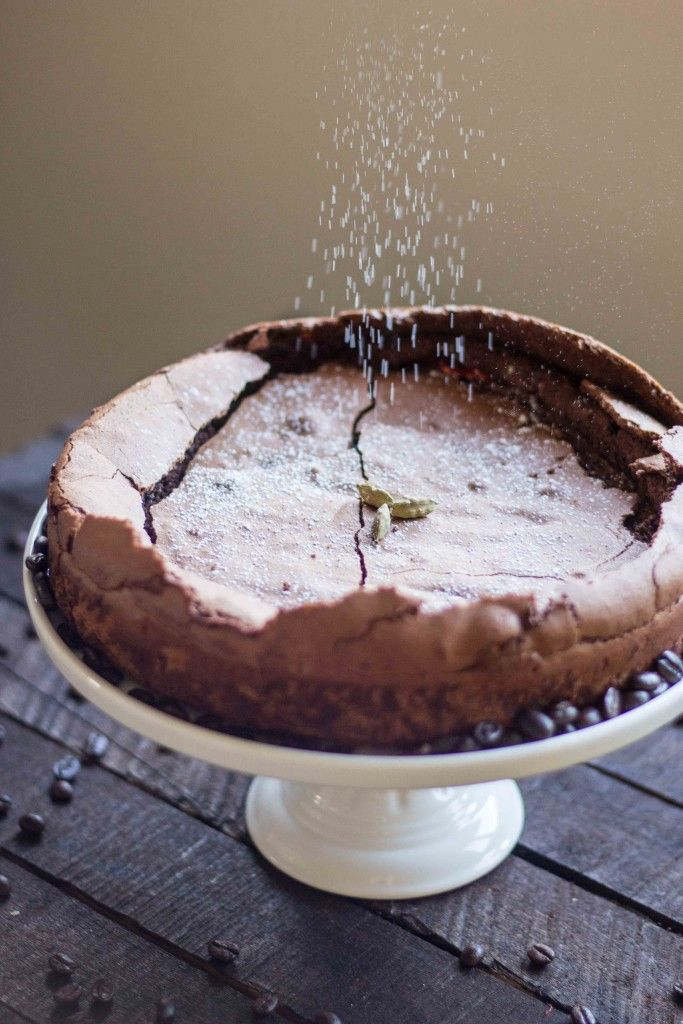 Turkish Coffee Flourless Chocolate Cake