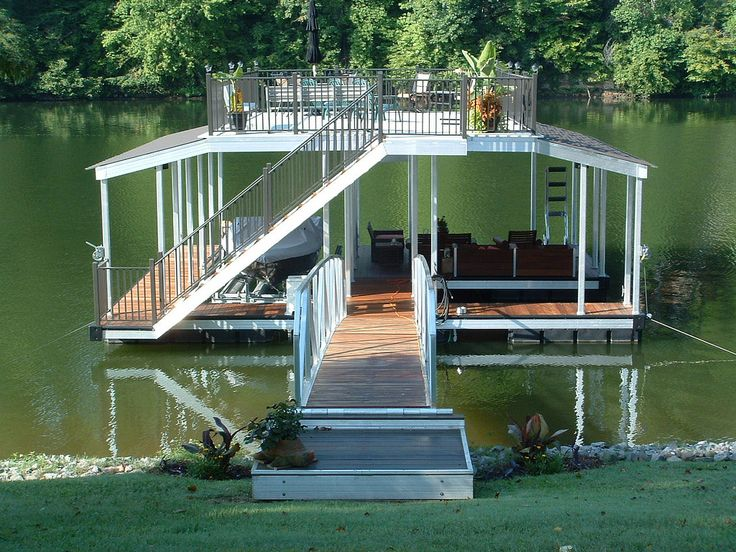 20 best boat dock images on pinterest boat dock for Boat house plans pictures