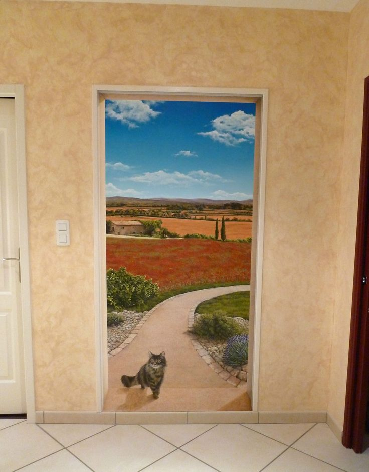 17 Best Ideas About Trompe L Oeil Porte On Pinterest