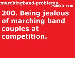 Image result for marching band couple