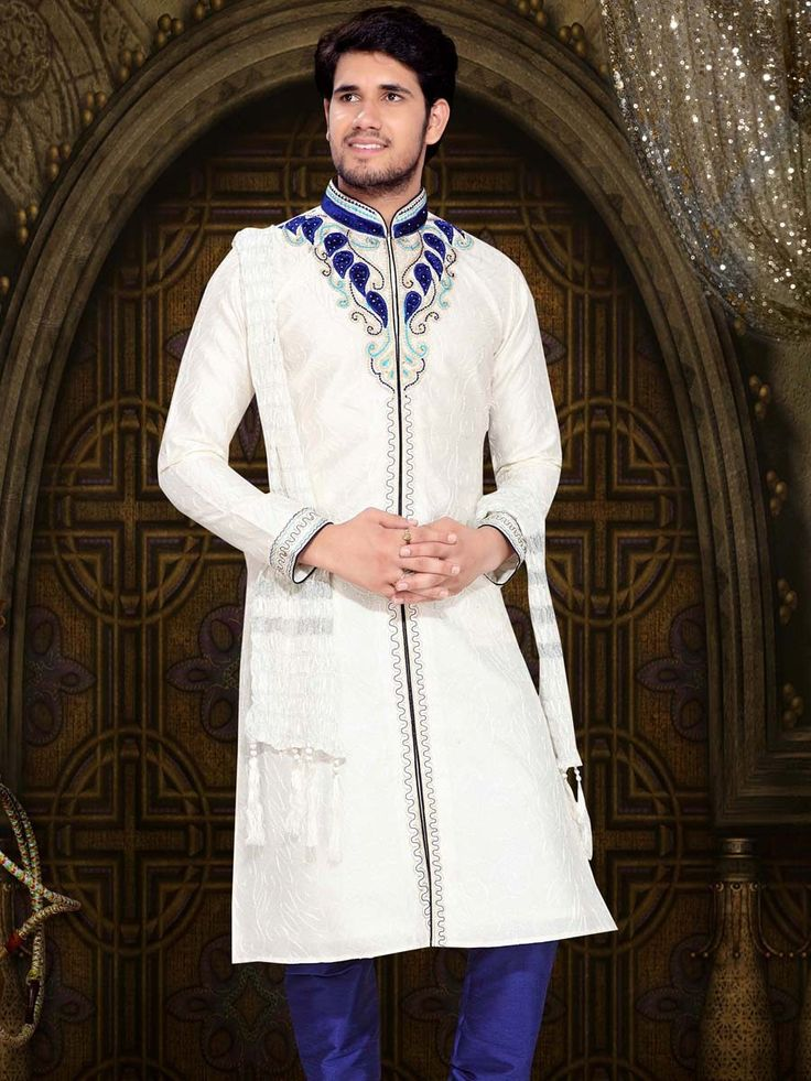 Admirable Sangeet Semi Sherwani
