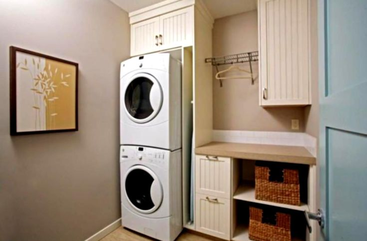 The Most Laundry Room Ideas Small Stackable Washer Dryer Stacked Decorations And Accessories Tara April Glatzel Modern As Your With Regard To