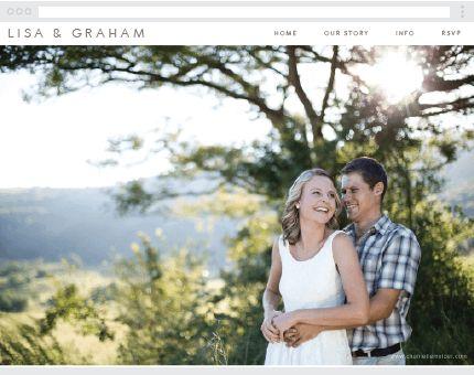Simple Clean Wedding Website Free At Www Victoriaandrose