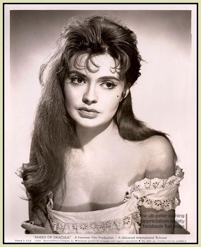 """""""The Brides of Dracula"""" (1960) -- Yvonne Monlaur as Marianne Danielle"""