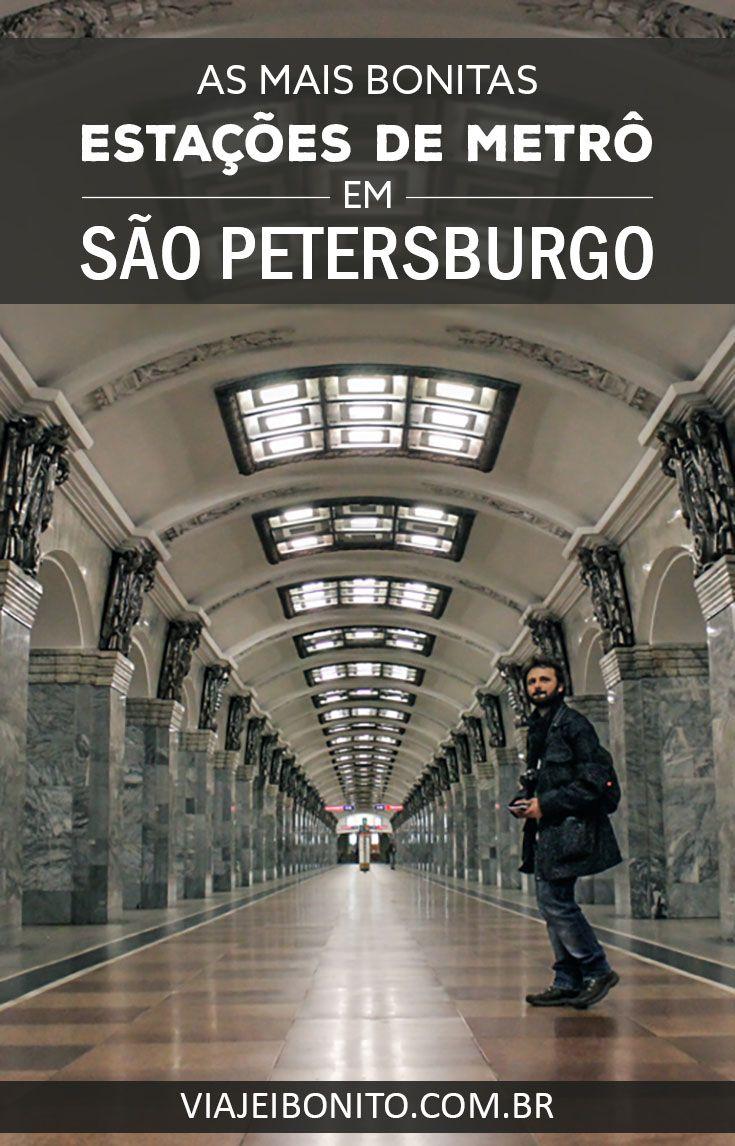 Passeio guiado pelas estações mais bonitas e simbólicas de São Petersburgo, Rússia