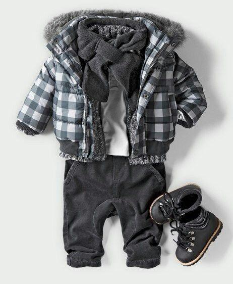 Adorable little boy outfit