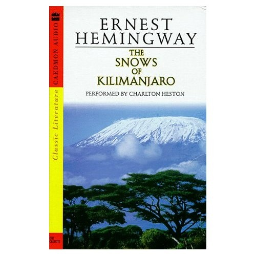 an examination of the life of ernest hemingway in the short story the snows of kilimanjaro The snows of kilimanjaro essay  in the snows of kilimanjaro,a short story by ernest hemingway  an examination of the life of ernest hemingway in the.