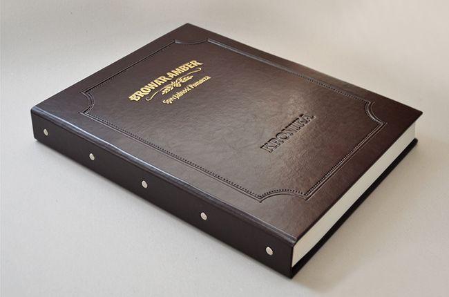 Księga firmowa / okolicznościowa / pamiątkowa