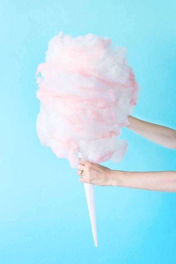 DIY Cotton Candy Piñata - Studio DIY