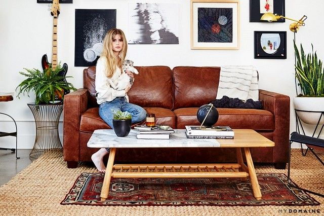 Tour the Downtown L.A. loft of actress Carlson Young and musician Isom Innis.