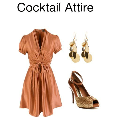 What Is Cocktail Attire? Cocktail attire is usually described as less formal than formal attire, but not too casual. Similar to but usually slightly less formal than semi-formal attire, it typicall...
