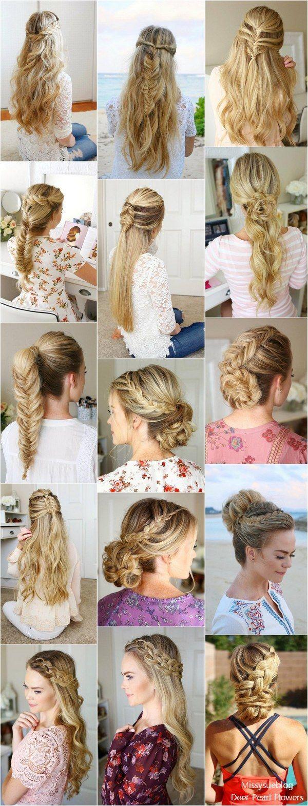 Long Wedding & Prom Hairstyles from Missysueblog ( http://missysue.com )  #wedding #weddingideas #fashion / http://www.deerpearlflowers.com/wedding-prom-hairstyles-for-long-hair/ #weddinghairstyles