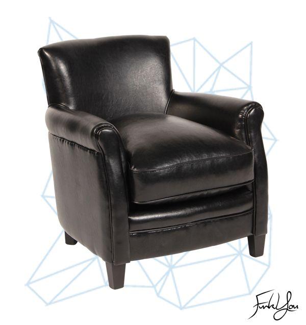 Cigar Lounge Chair - Black. www.funkyou.com.au