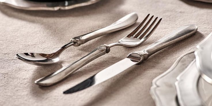 Pewter & Stainless Steel Dessert Flatware Set - Food Safe Product - #pewter #stainless #steel #dessert #flatware #cutlery #set #peltro #acciaio #posate #dolce #zinn #edelstahl #stahl #besteck #bestecke #étain #etain #couverts #peltre #tinn #олово #оловянный #tableware #dinnerware #table #accessories #decor #design #bottega #peltro #GT #italian #handmade #made #italy #artisans #craftsmanship #craftsman #primitive #vintage #antique