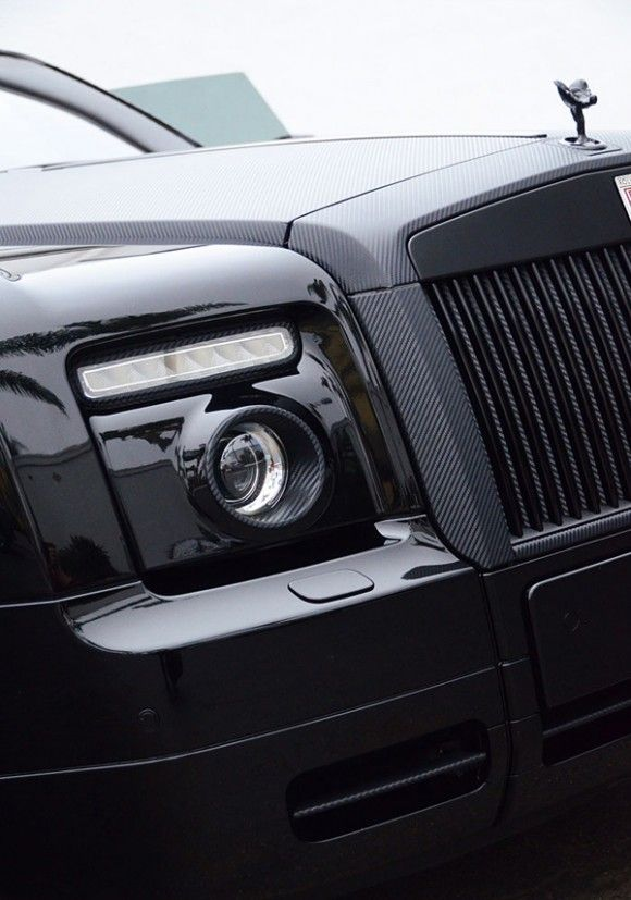 Carbon Fiber Rolls Royce Phantom