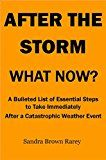 Free Kindle Book -   After The Storm, What Now?: A bulleted List of Essential Steps To Take Immediately After A Catastrophic Weather Event