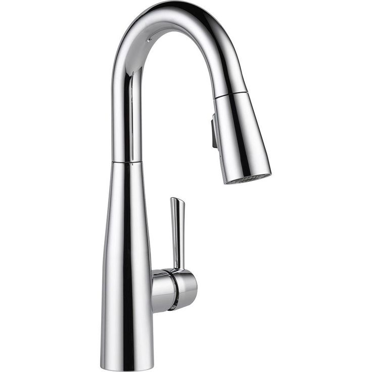 Delta Essa Single-Handle Bar Faucet with MagnaTite Docking in Chrome - 9913-DST - The Home Depot