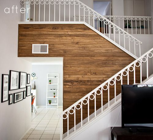 Wood Panel Accent Wall: 58 Best Accent Walls Images On Pinterest