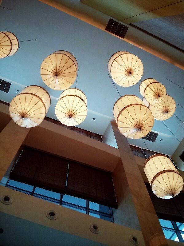 Lobby decor