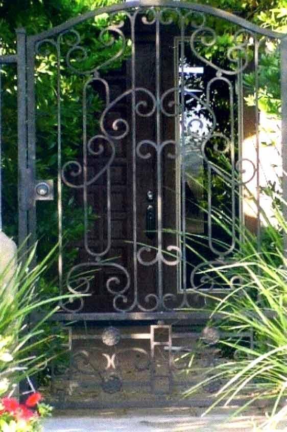 Wide Garden Gate