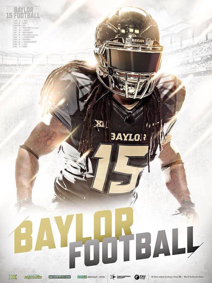 Baylor 2015 Football Poster