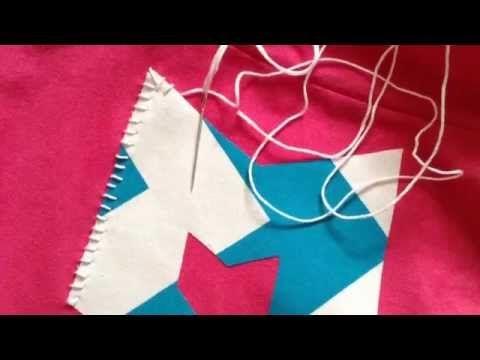DIY: Greek Letter Shirts - YouTube