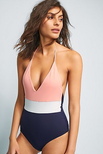 d84fc9aa9e40 Tavik Chase Colorblocked One-Piece Swimsuit | HAWAII 2018 in 2019 ...