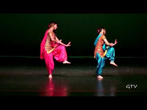 Manpreet & Naina @ Warrior Bhangra 2011 - YouTube