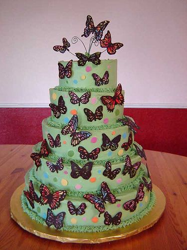 Made this butterfly cake for Kendall's birthday 2 years ago and it came out beautiful!!