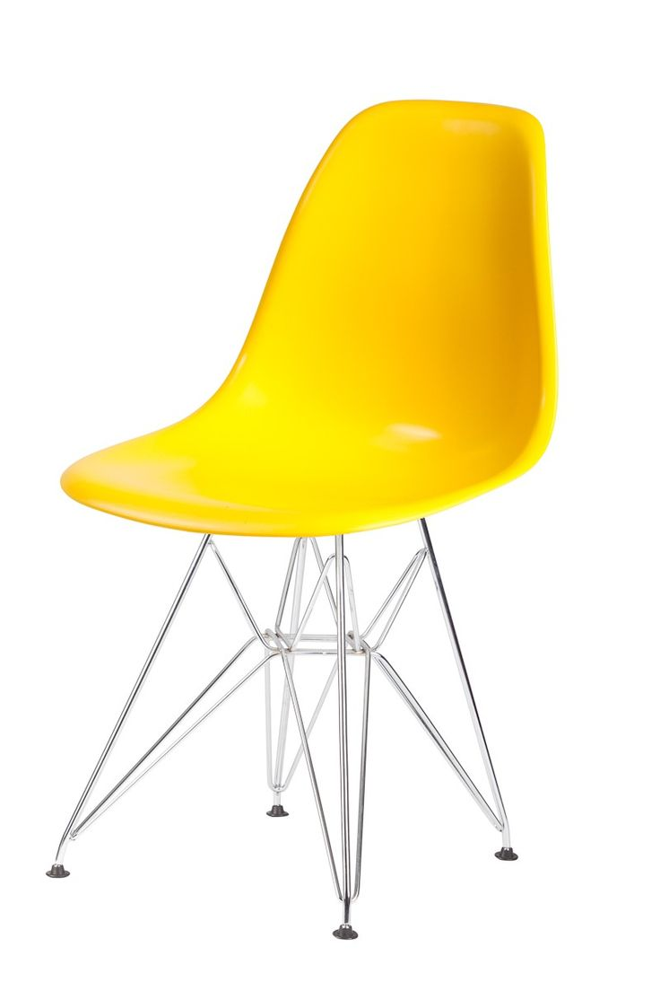 Replica Charles Eames Dining Chair (Steel Legs)    Ray And Charles Eames  Designed