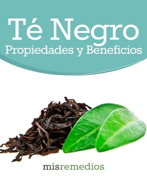 #Té negro - Propiedades y Beneficios #PlantasMedicinales