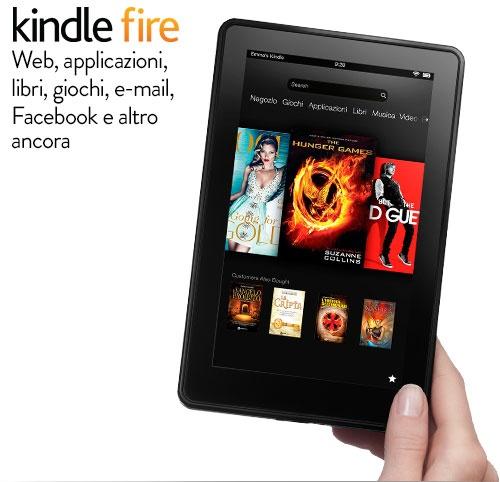Kindle Fire arriva in Italia in offerta a soli 159 euro!