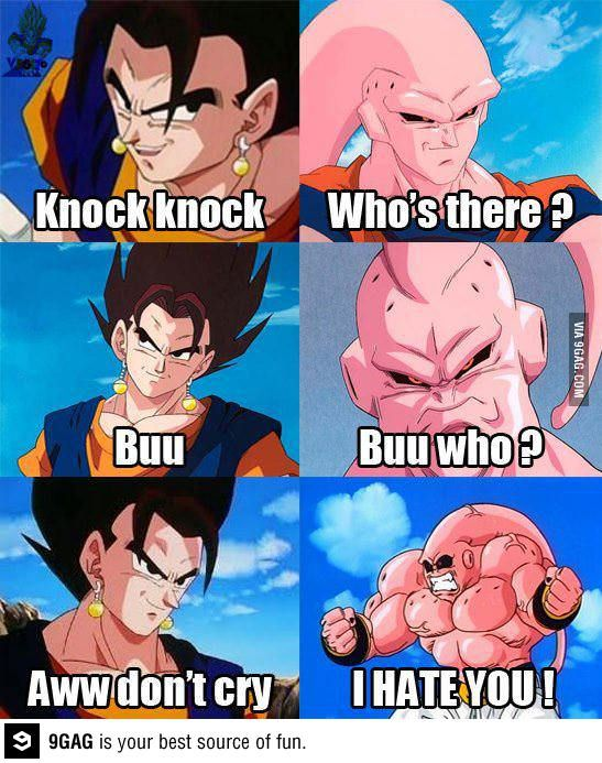Buu Huu! Poor Boo...Dragon Ball Z!! <3