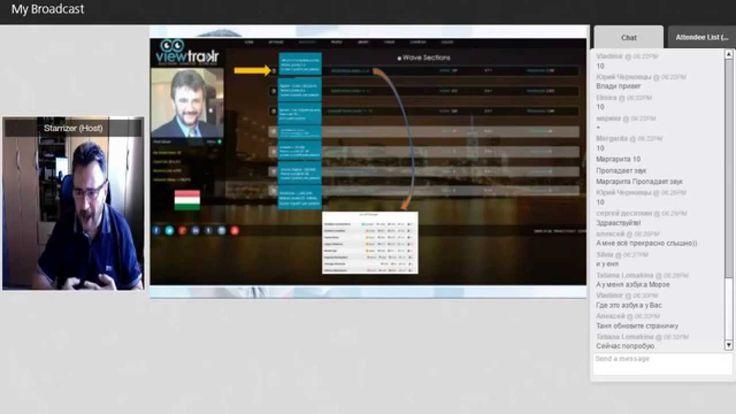 Viewtrakr Wavescore -основные понятия - Спикер Vladi Szilczer
